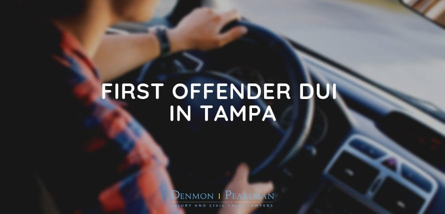 First Offender DUI In Tampa