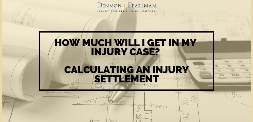 Calculating An injury Settlement
