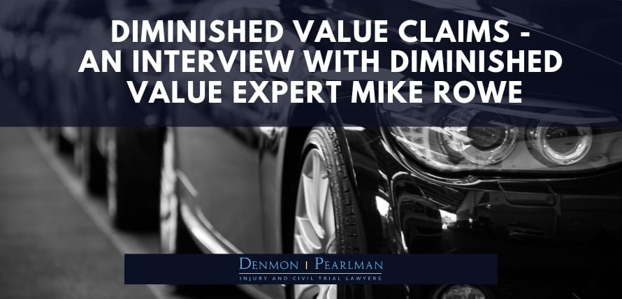 Diminished value claims