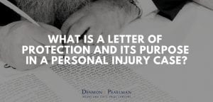 Letter of Protection in a personal injury case