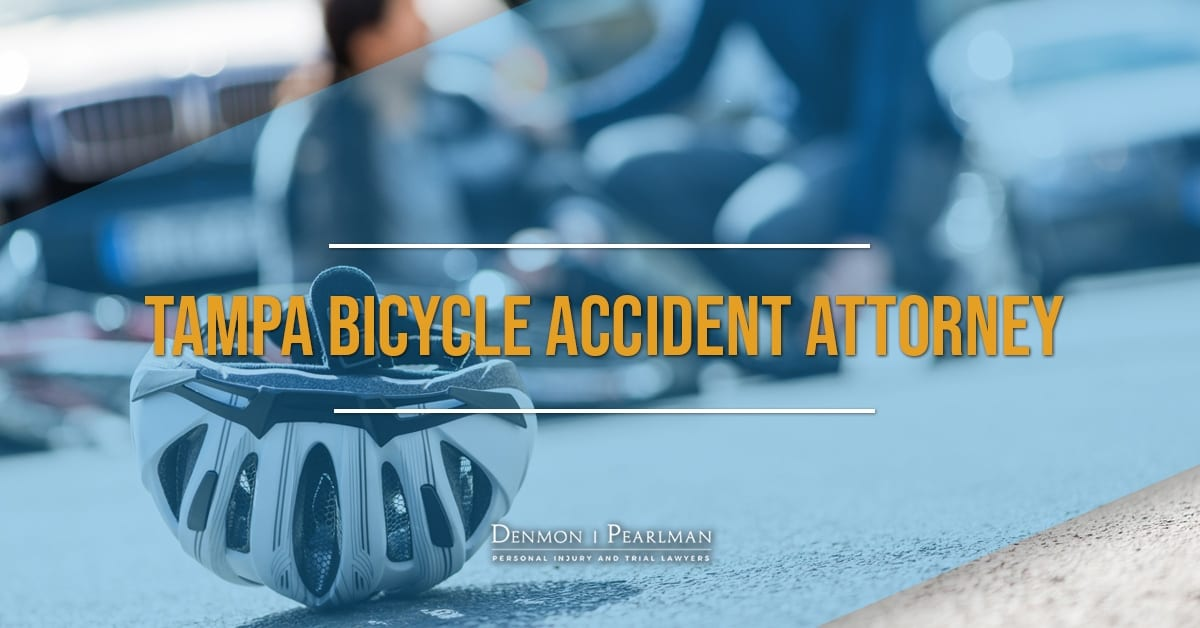 Tampa Bicycle Accident Attorney for a woman who was hit on her bicycle