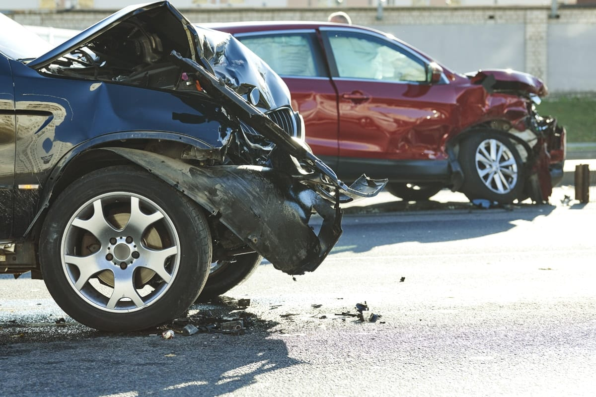 Tampa Car Accident Lawyer two suvs crashed together
