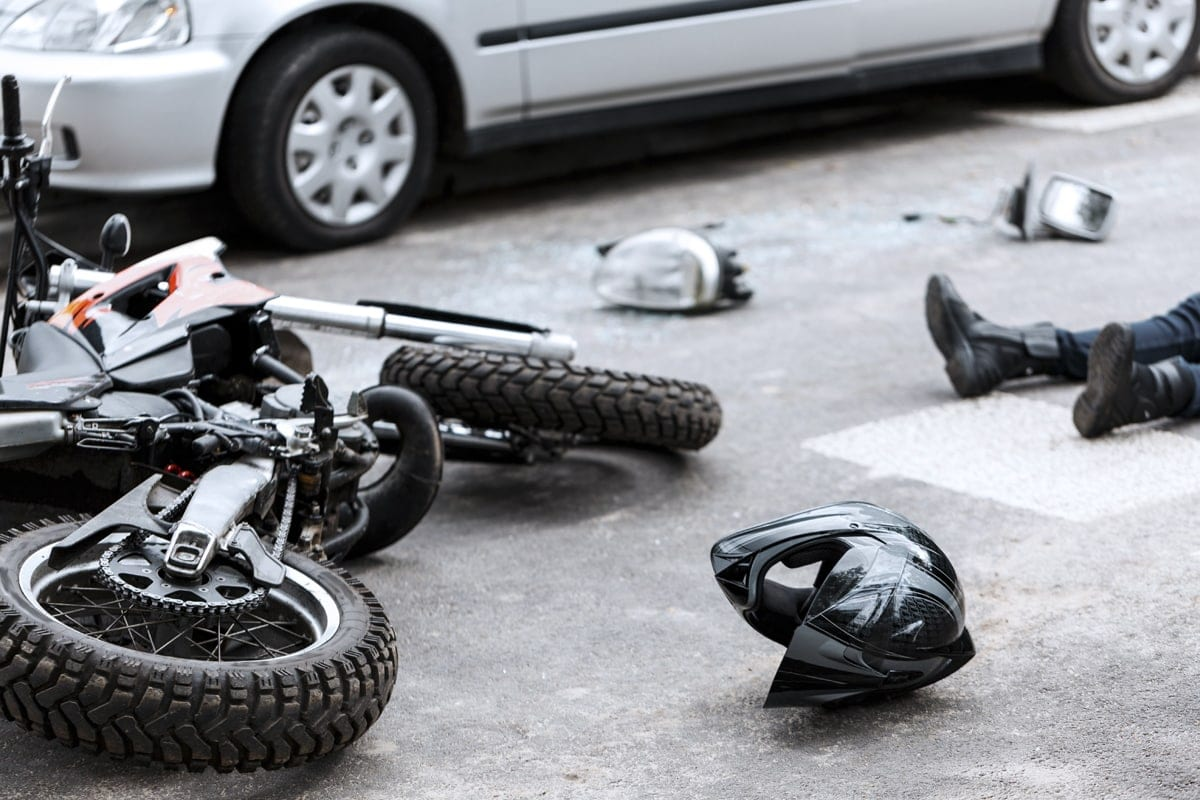 Motorcycle Accidents happen all of the time, and sadly this is what happened to this rider as he crossed W Tampa Bay Blvd