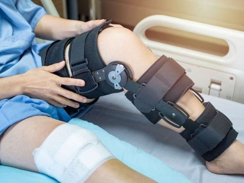 Knee Injuries due to Car Accidents
